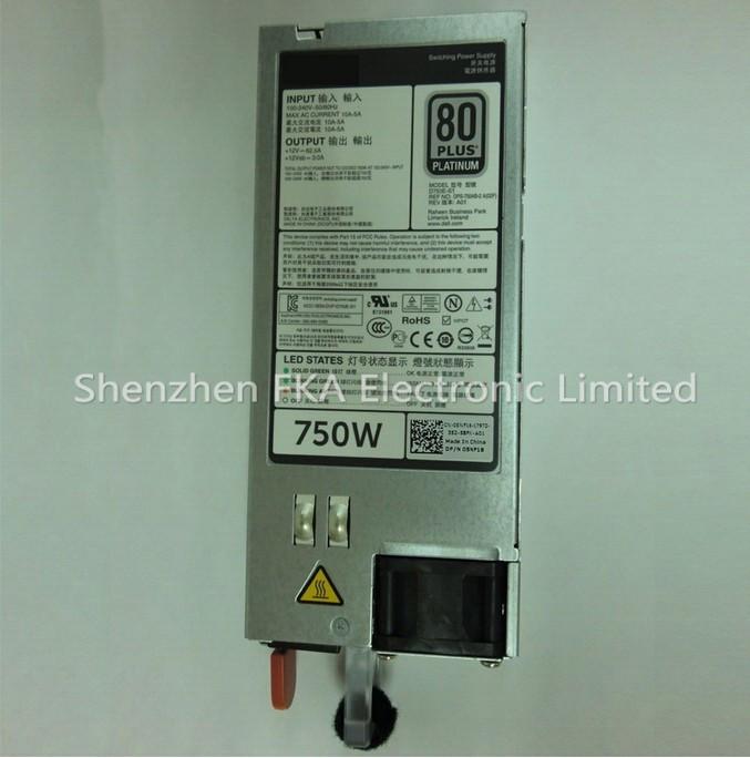 Dell 05NF18 platinum 750W server power supply R520 R620 R720 R820 T420 T620 PSU