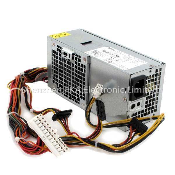 Dell Optiplex 390 790 990  For Dell Vostro 200 HY6D2 CN-0HY6D2  D250AD-00 0HY6D2 250W Power Supply