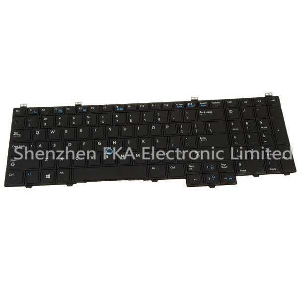 Dell Latitude E5540 Laptop Keyboard with Stick Pointer Backlight 76X2J 076X2J