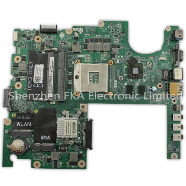 Laptop Motherboard 4DKNR For Dell Studio 1558 ATI HD 5470 Non-Integrated