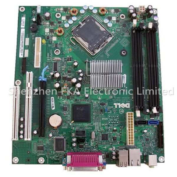 Dell Optiplex 745 DT Motherboard MM599 HP962 LGA775