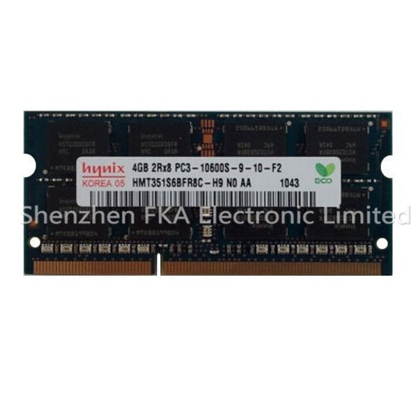 Original 4GB DDR3 SODIMM RAM PC3-10600 1333MHz Laptop Memory X830D