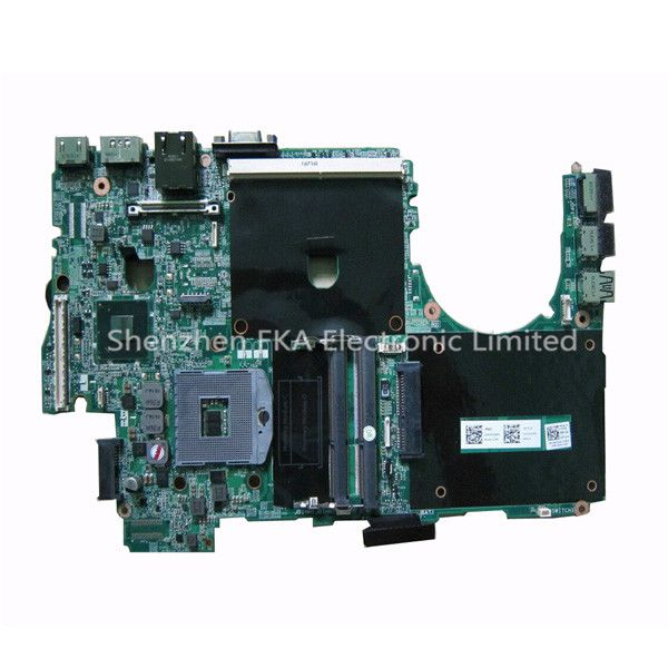 Laptop Motherboard 605CY CN-0605CY For Dell Precision M4600 System Mainboard RGB