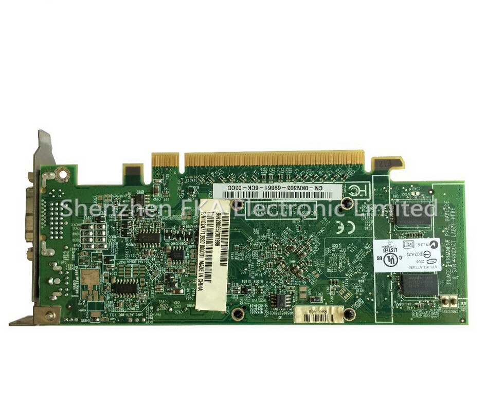 KN303 0KN303 128MB PCI-E ATI Radeon X1300 Low Profile DVI Video Graphics Card