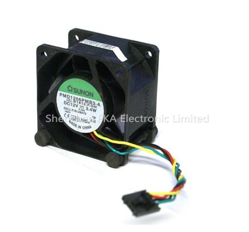 Dell Optiplex GX620 745 755 SX280 9G0612P1M031 Case Cooling Fan JT782 KR024 U8679 0U8679 CN-0U8679