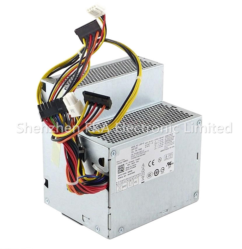 Dell Optiplex 580 760 960 DT 255W Power Supply RM110 WU123 L255P-01 PS-5261-3DF-LF