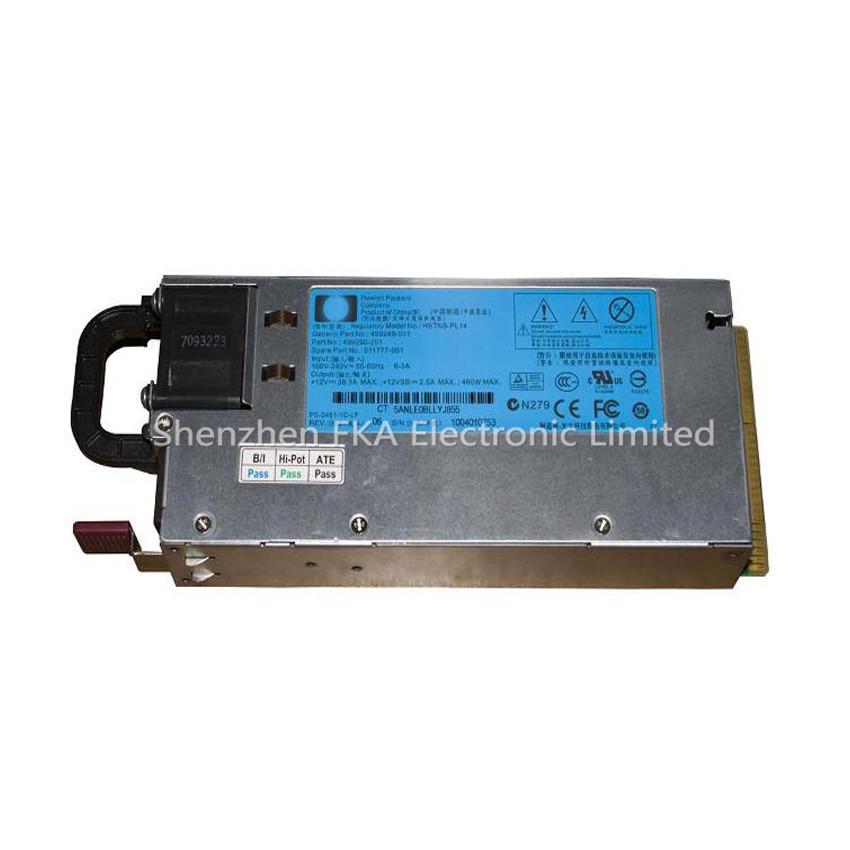 HP ProLiant DL 360 G6/G7 460W POWER SUPPLY 499249-001 503296-B21 511777-001