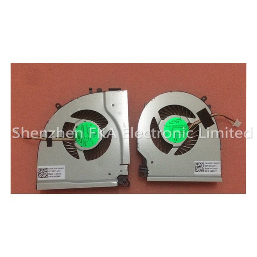 DELL Inspiron 7000 7557 7559 CPU COOLING FANs 0RJX6N 04X5CY