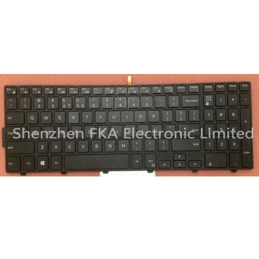 Dell Inspiron 7000 7557 7559 5547 5545 Latitude E3550 US-INT QWERTY Backlit Keyboard 51CHY 051CHY