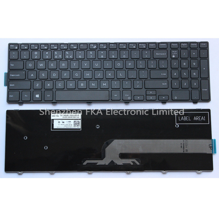 Dell Inspiron 15 3000 3541 Laptop US Keyboard NON-Backlit JYP58 0JYP58