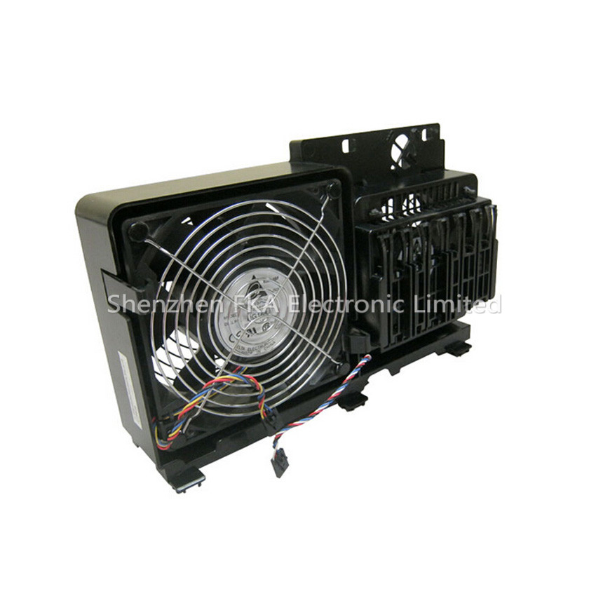 Dell Precision T7400 T7500 Cooling Fan Dual Case WN845 0WN845