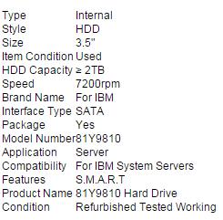 IBM 81Y9810 Simple-Swap 3.5