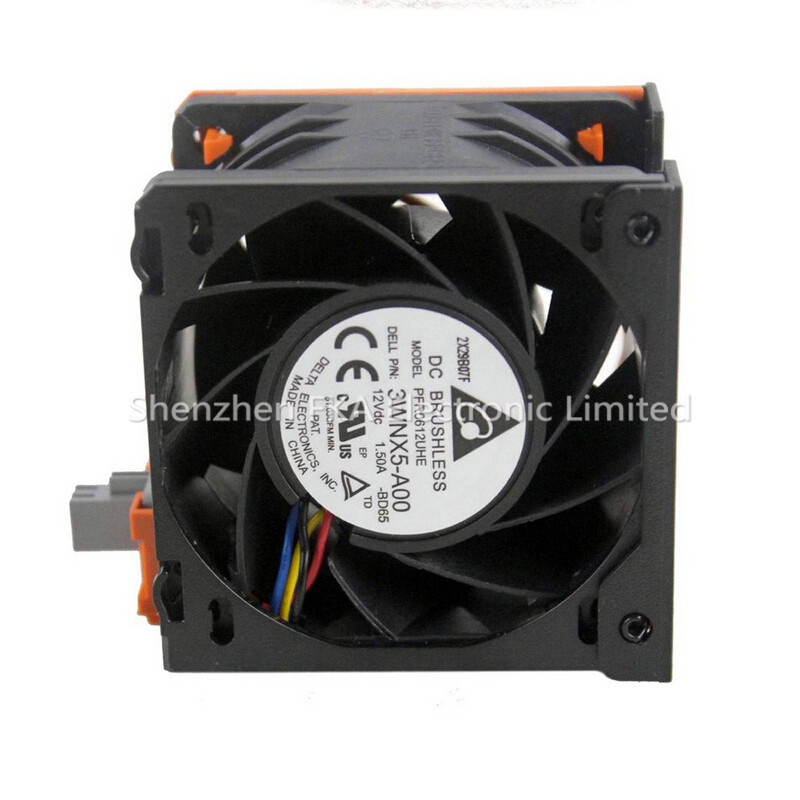 3RKJC CN-03RKJC for Dell PowerEdge R720 R720xd Server Fan 60x60x38 Hot Swap CPU Cooling Fan