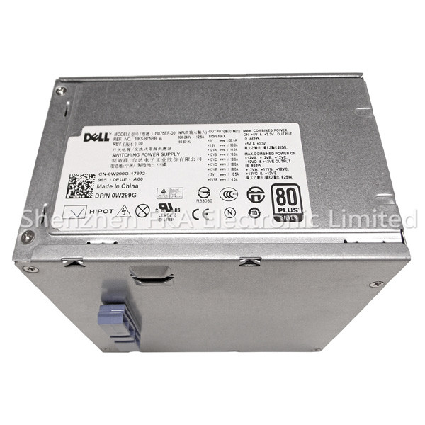 DELL PRECISION T5500 ALIENWARE AURORA 875W PSU W299G N875EF-00 POWER SUPPLY