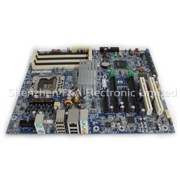 HP Z400 X58 Workstation Motherboard 586766-002 586968-001 System Board 1333MHz LGA 1366 DDR3