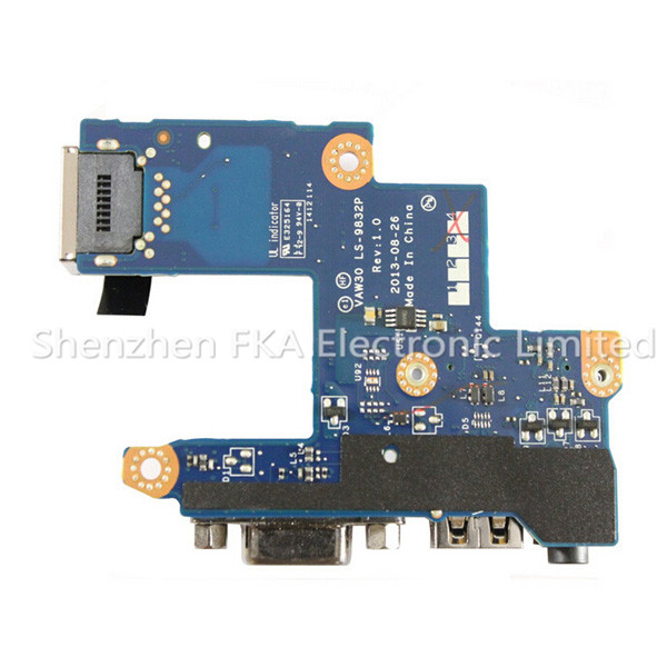 Dell Latitude E5440 Daughterboard G1WYK CN-0G1WYK Audio Ethernet USB VGA I/O Board LS-9832P