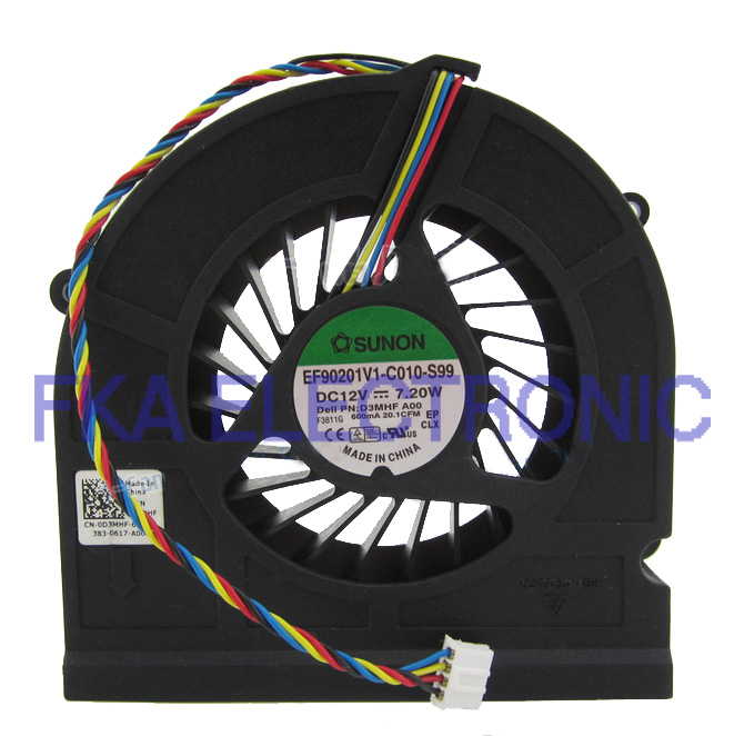 Dell D3MHF 0D3MHF Optiplex 3011 Insprion One 2020 Cooling Fan